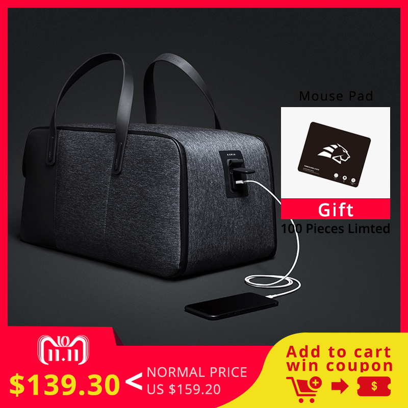 Krion FlexPack | The Best Functional Anti theft Duffle & BackPack Men Travel Bags Fashion Cool Handbag
