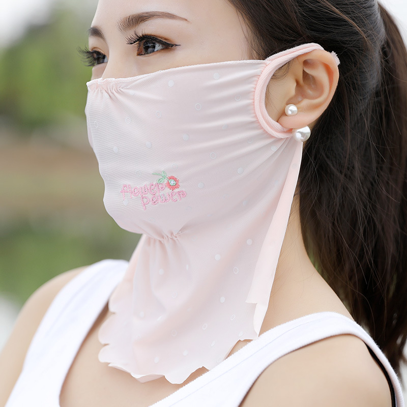 1PC Kawaii Anti Dust Mask Sunscreen Mouth Mask Cute Unisex Cartoon Mouth Muffle Face Mask Korean Masque Ice Silk Dust Mask