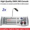 2xLot Free Shipping DMX240 Console DMX 512 Controller 192 Channels Professional DJ Disco Controller Equipment Led