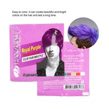 Фиолетовый 5 г одноразовый модный Стайлинг волос окрашивающий краситель воск легкая окраска крем супер краска для мужчин для салона-парикмахерской