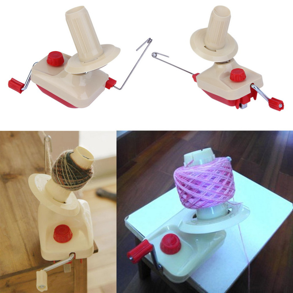 2017 Home Use Portable Hand-Operated Yarn Winder Wool String Thread Skein Machine Tool