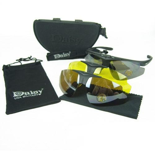 e8fdda36099 2017 Daisy C1 Desert Hawk Sun Glasses Bicycle Goggles Tactical eye  Protective Riding UV400 Glasses