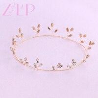 Wedding Hair Accessories Bridal Hair Accessories Gold Headpiece Hair Jewelry Wedding Accessories Bride Tiaras And Crowns