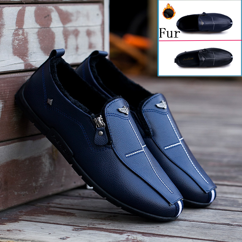 Men Shoes Loafers Soft-Moccasins High-Quality Fashion-Brand Comfy Sneakers Chaussure