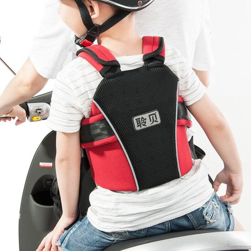 Мотоцикл детское сиденье ремень безопасности протектор ремни безопасности ребенка сиденья для мотоцикла Положение ремня баланс сиденье п...