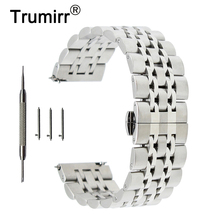 20mm 22mm Stainless Steel Watch Band for Fossil Butterfly Bu