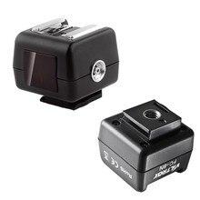Viltrox FC 8N Wireless Hot Shoe Flash Remote Slave Trigger del Convertitore w/Presa PC per Canon Nikon Flash per Sony minolta DSLR