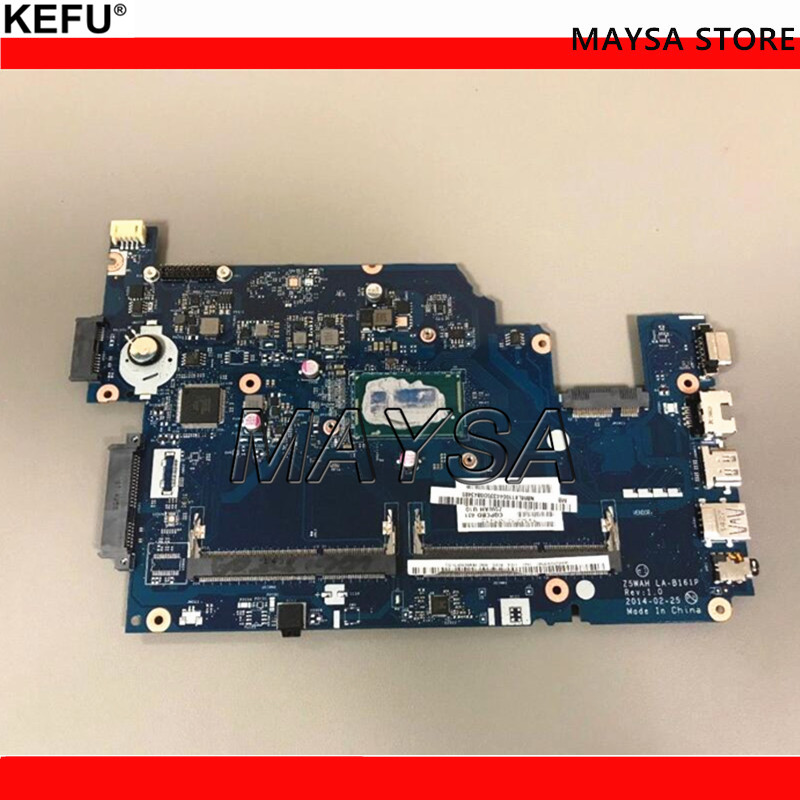 Z5WAH LA B161P laptop motherboard for acer aspire E5 531 E5 571 E5 571P NBML811004 NB.ML811004 SR1EF I5 4210U DDR3L