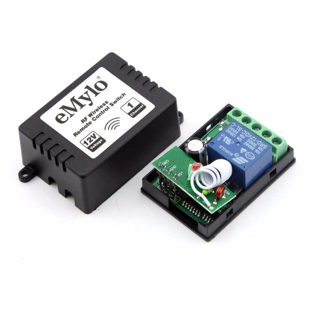 Schema Elettrico Emylo : Emylo dc v interruttore smart switch wireless rf remote control