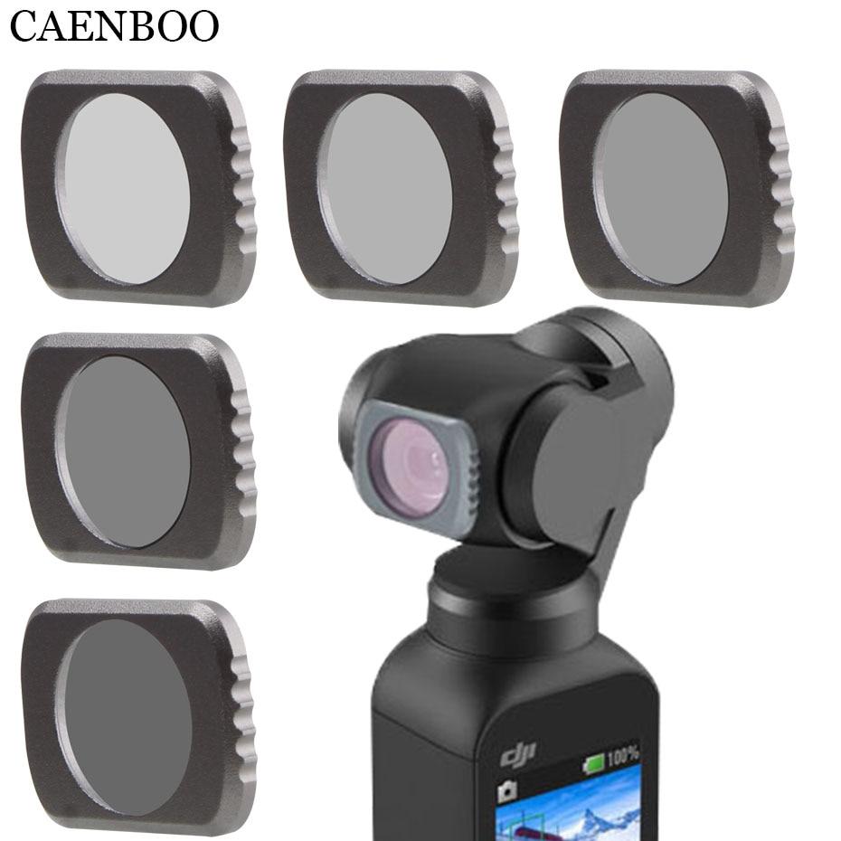 For OSMO POCKET Filter ND4 8 16 32 64 Polar OSMO POCKET For DJI OSMO Pocket Camera Accessories Kit Neutral Density Filter
