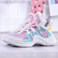 New Luxury Brand Kids Girls Designer Sneakers Breathable Baby Girl Sneakers Fashion Shoes Kids Girls Sport Sneakers Childrens