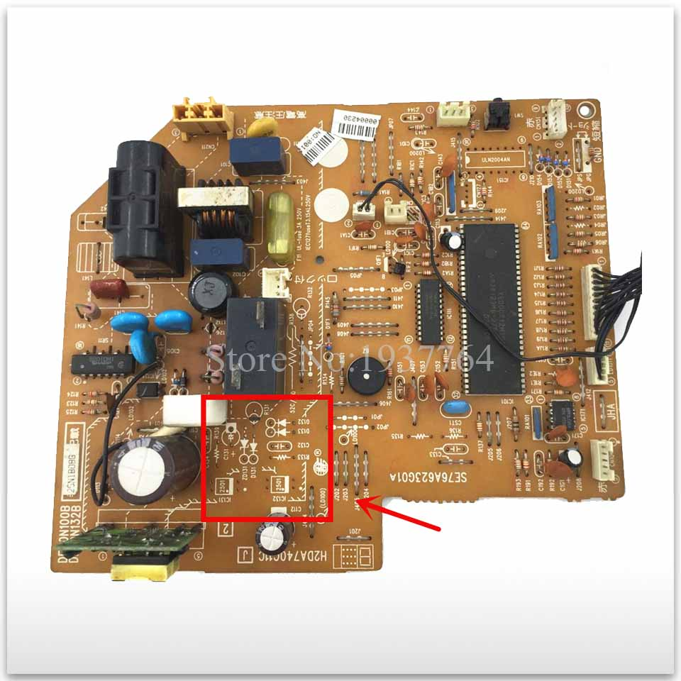 good working for Air conditioning Computer board SE76A623G01A only cold board usedgood working for Air conditioning Computer board SE76A623G01A only cold board used