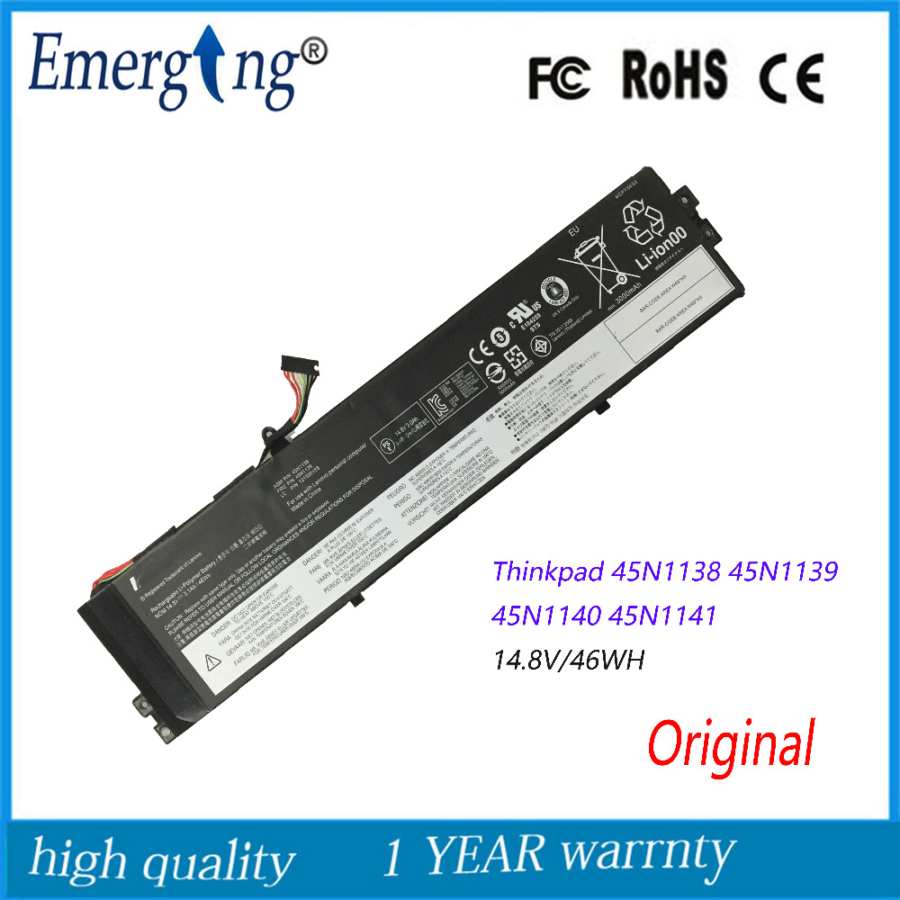 14.8V 46WH Original  New  Laptop Battery for  Lenovo ThinkPad  45N1138/1139 121500158 S440 V4400u 45N1138 45N113914.8V 46WH Original  New  Laptop Battery for  Lenovo ThinkPad  45N1138/1139 121500158 S440 V4400u 45N1138 45N1139