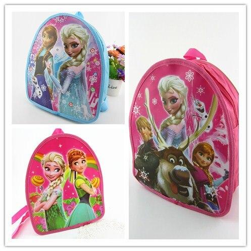 De dibujos animados de Disney niños congelados bolsa mini muñeca Elsa de bebé Mochila pequeña princesa chico Mickey Mouse jardín bolsa