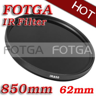 Wholesale IR Filter 62mm 850nm Infrared X-Ray IR Pass Filter 62mm-850nm 37mm 37 mm infrared infra red ir filter 850nm 850