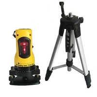 Laser level meter 360 grad selbst nivellierung 2 linien 1 punkt horizontale vertikale laser ebenen 635nm outdoor modus stativ