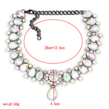8 colors New 2017 Z disign fashion necklace collar necklace & pendant  luxury choker statement  necklace maxi jewelry wholesale