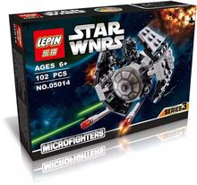 LEPIN 05014 Star Wars Rebels TIE Advanced Prototype Micro Fighters Minifigures Building Block Toys Compatible with Legoe