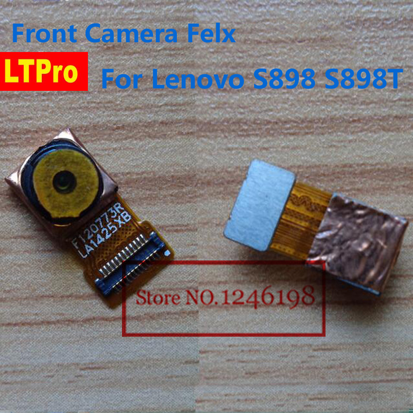 LTPro High Quality Tested Working Small Front Camera Module For Lenovo S898  S898t Phone Parts-in Camera Modules from Cellphones & Telecommunications