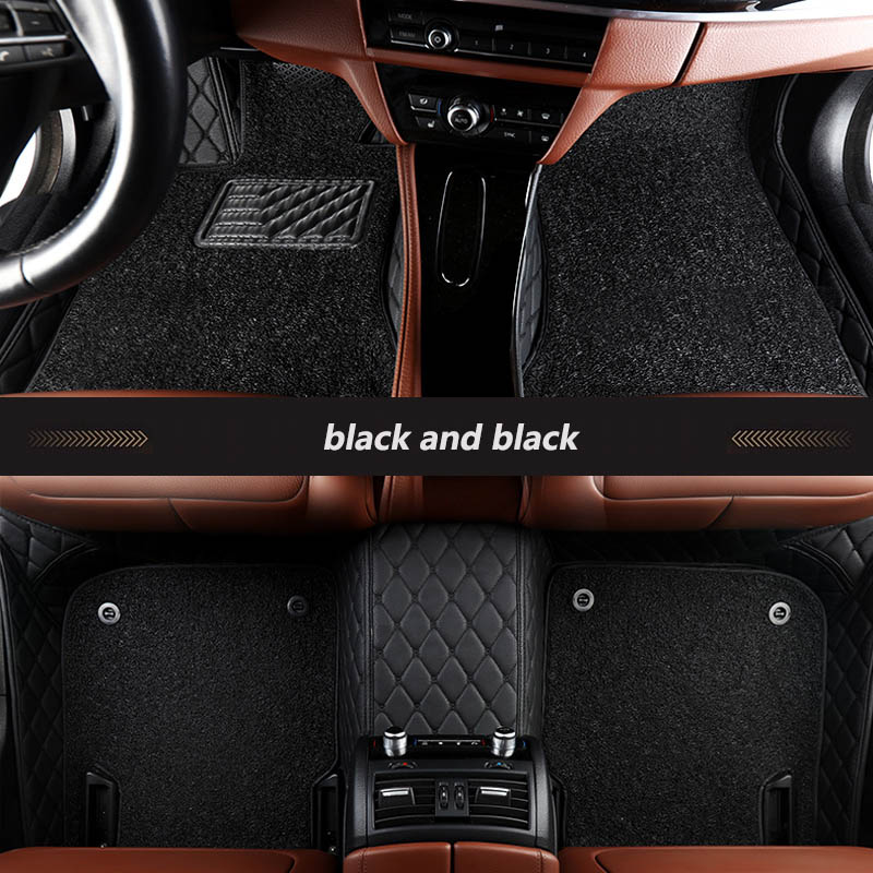 Tapis de sol spécial pour toyota rav4 camry verso corolla land cruiser aygo wish vitz fortuner yaris accessoires auto tapis de voiture - 6