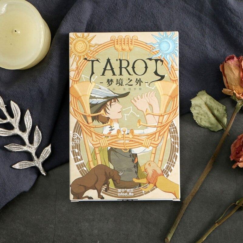 30 pcslot beyond the dream tarot postcard birthday
