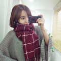 The Big 2016 New Imitation Cashmere Scarf Qiu Dong Female Amphibious Plaid Shawl Wool Scarves sell like hot cakes