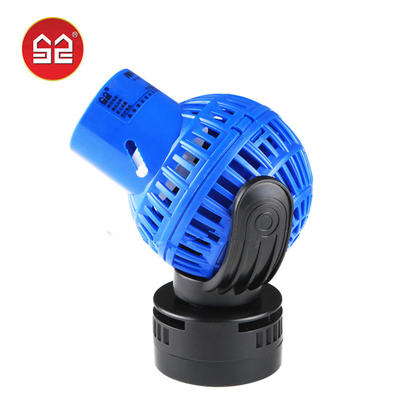 Sunsun Blue Aquarium Wave Maker Water Pump Fish Tank Circulation Pump Wavemaker Powerhead W/ Magnetic Base