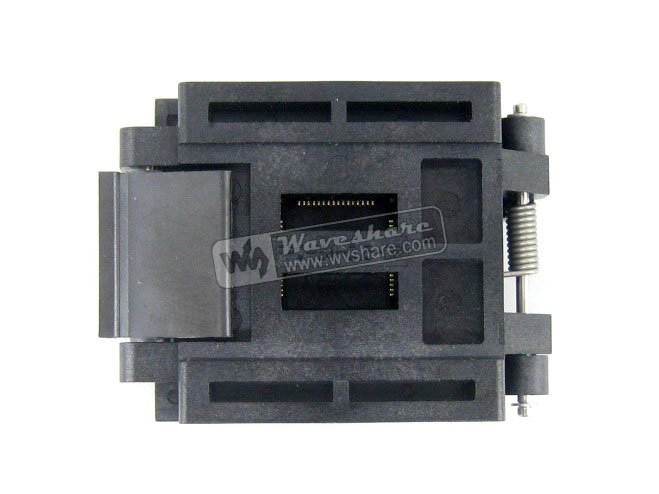 QFP64 TQFP64 LQFP64 PQFP64 Enplas FPQ-64-0.5-06 QFP IC Test Burn-In Socket 0.5mm Pitch
