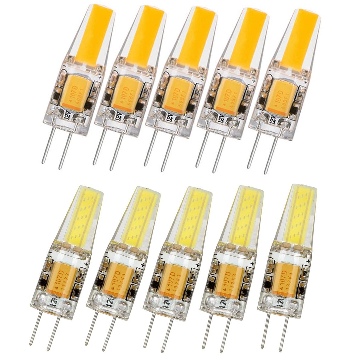 Led Halogen Bulb Diagram International 4700 Wiring Pdf 1set 4 10pcs Dimmable G4 Cob Capsule 3w 6w