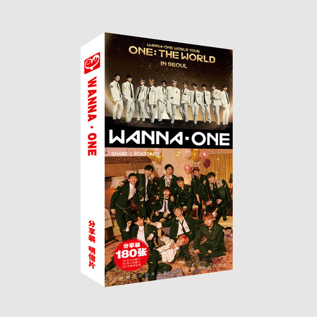 US $6 99 |Kpop Wanna One Postcard Set The World Tour New Fashion Photocard  Sticker K POP Photo Share Post Cards k pop Lyrics LOMO vintage-in Jewelry