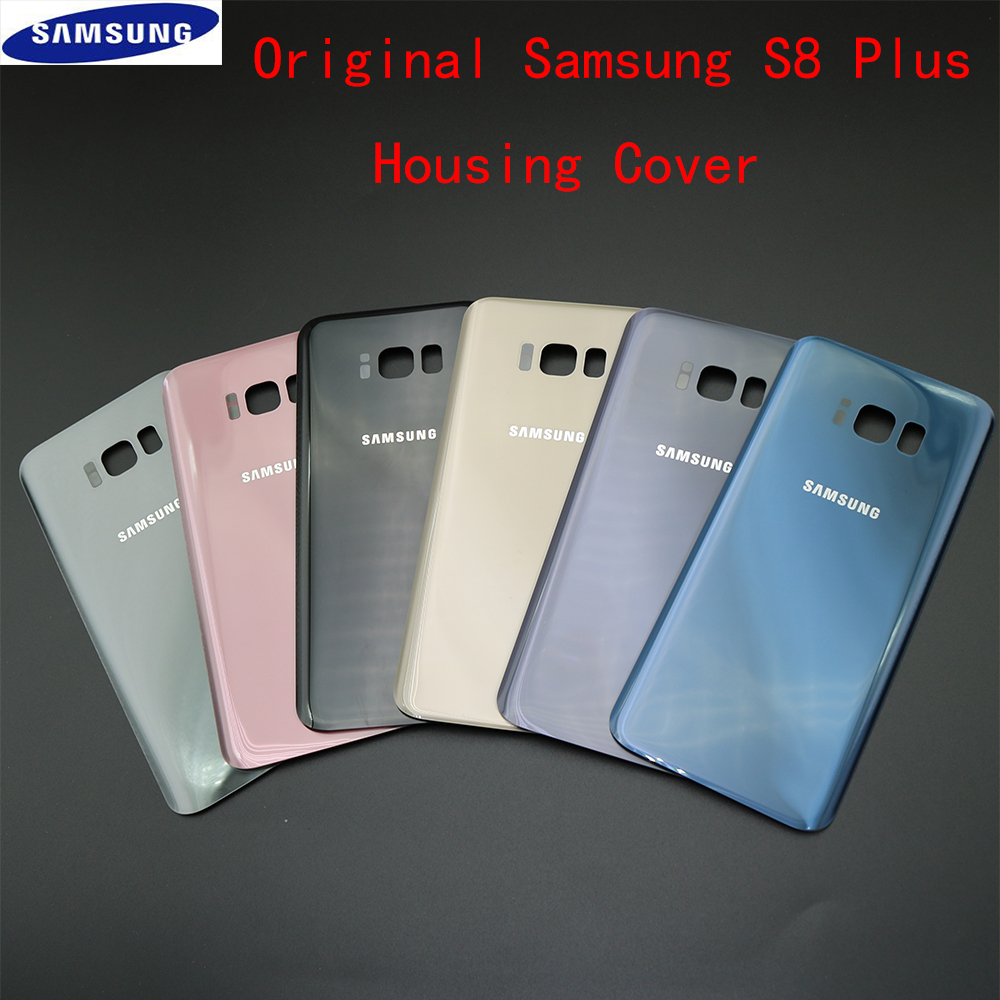 Back Housing For Samsung Galaxy S8+ Back Cover Case Battery Rear Door Replacement For SAMSUNG S8 Plus G955F Battery Cover