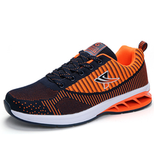 Best Selling Men Running Shoes Men Running Shock Absorption Boys Athletic Trainers Summer Men Sneakers Blue Man Shoes Training