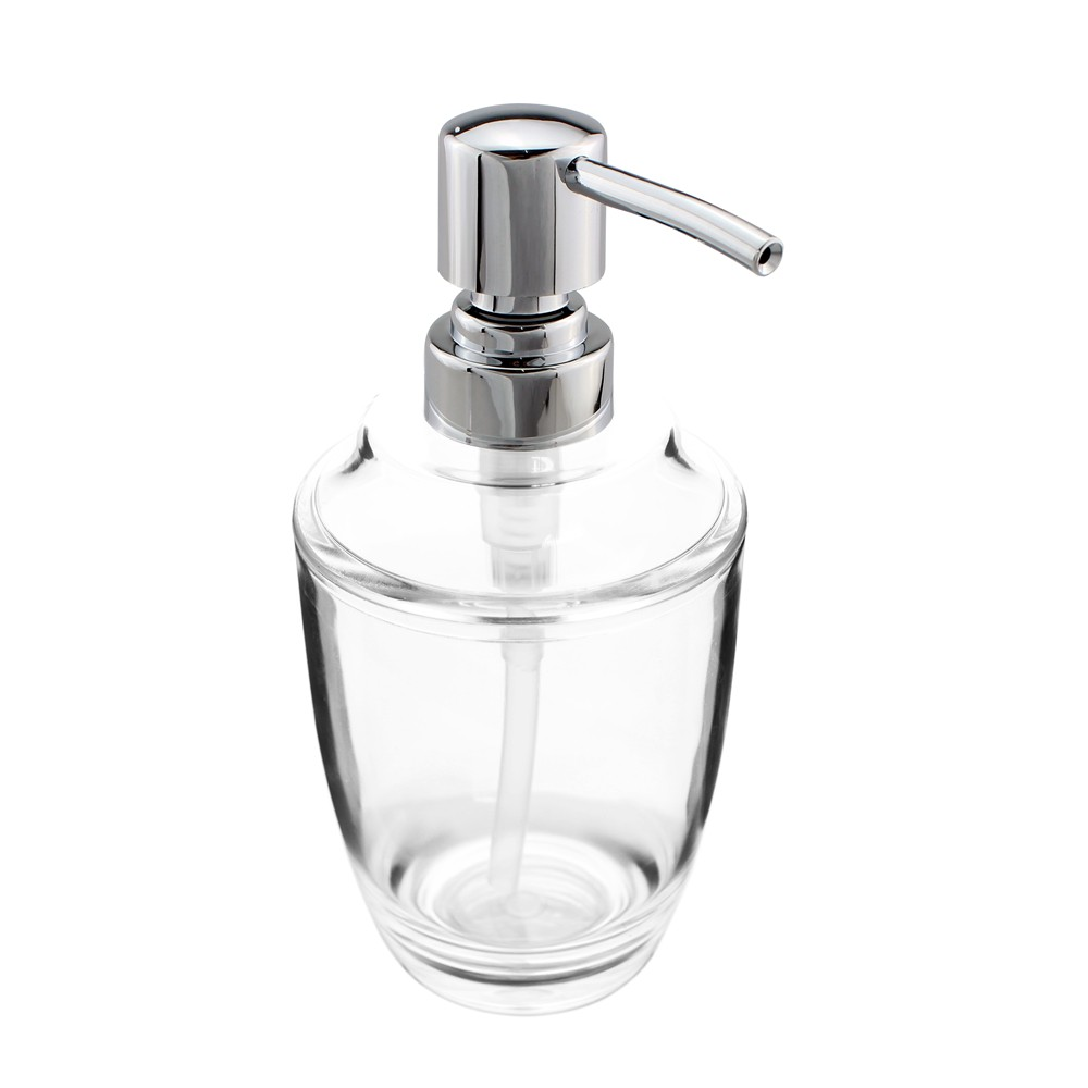 2pcs/lot Acrylic Soap Lotion Liquid Dispenser Pump Bottle