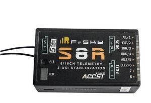 Image 1 - Frsky S8R 16CH 3 Trục Stablibzation RSSI PWM Ra Xa Thu Thông Minh Cổng