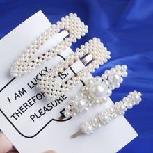 4pcs Hair Clips Simple Decorative white ABS Imitation Pearl Fashion Barrettes Hair Styling Tools Accessories Hair Pins for Girls люстра alfa los 5366 потолочная
