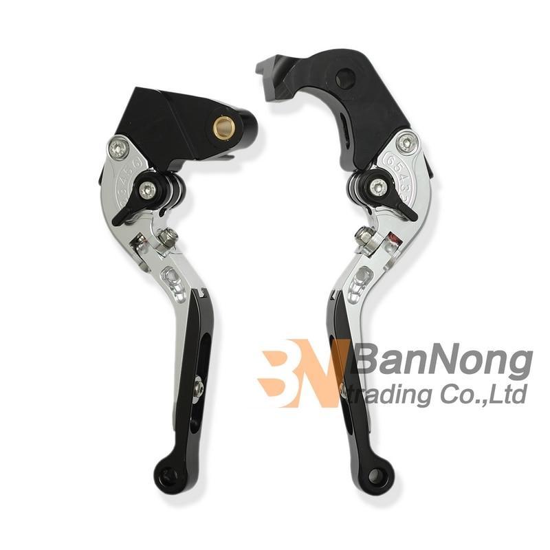 ФОТО motorcycle High-quality Modified CNC Aluminum Telescopic folding Brake Clutch Hand Levers For KAWASAKI Z1000SX/NINJA1000 11-12
