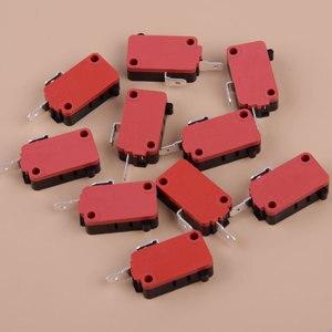 LETAOSK 10 шт. черный и красный и серебристый переключатель двери микроволновой печи подходит для LG GE Starion SZM-V16-FD-63 SZM-V16-FA-63