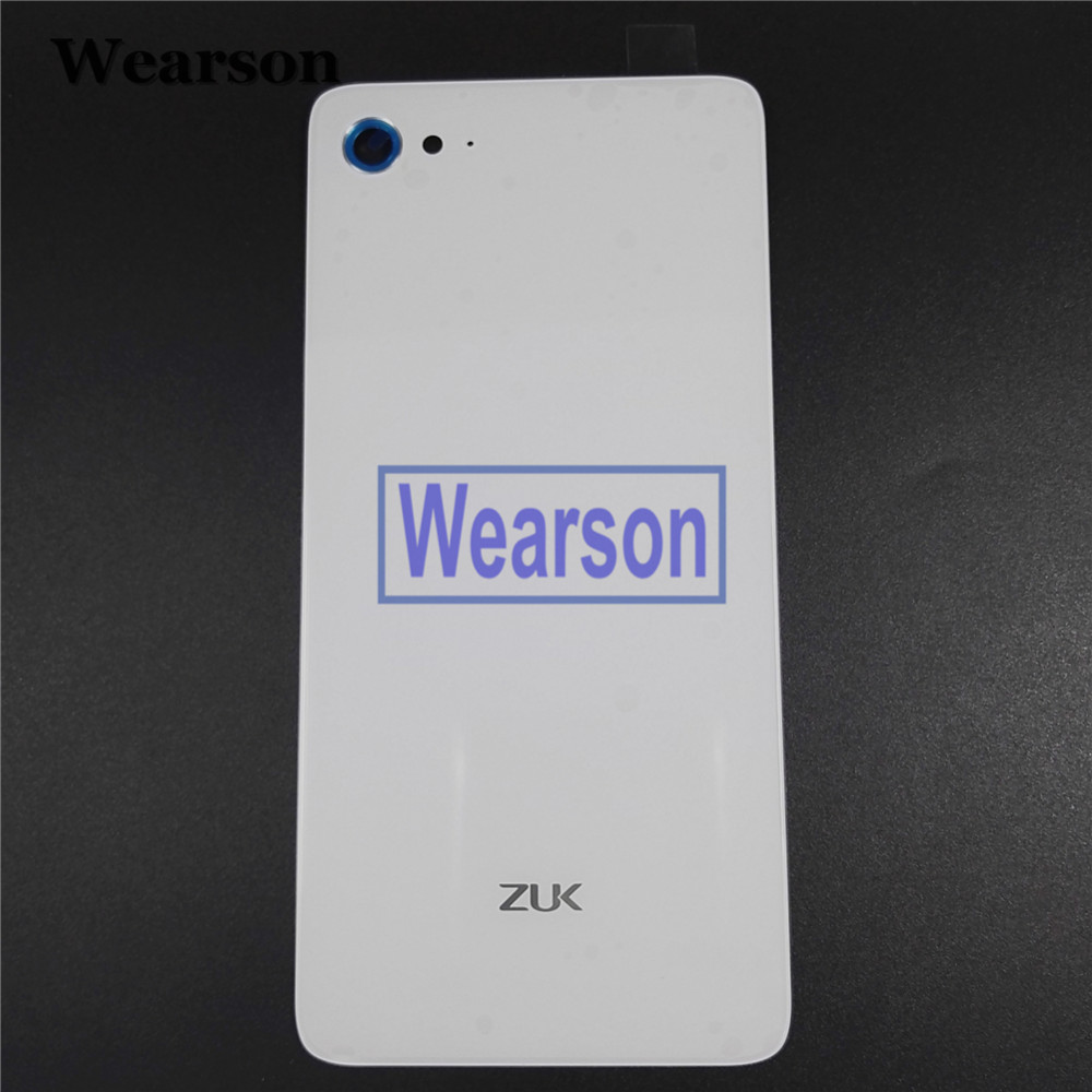For Lenovo ZUK Z2 PLUS Back Cover Z2 PLUS Battery Cover Glass+Glue 100% Original New Free Shipping With Tracking Number (5)