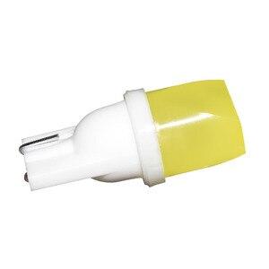 Image 2 - 1PC LED W5W T10 194 168 W5W COB Led Parking Bulb Auto Wedge Clearance Lamp White License Light Bulbs blue green