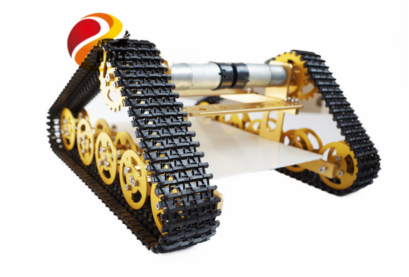 RC metal Tank Chassis walle Caterpillar Tractor Crawler Intelligent wall-e Robot Car Obstacle Avoidance diy rc toy uno r3 track