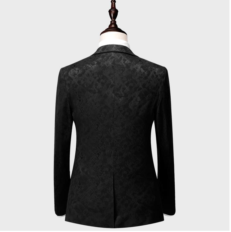 Men's Stylish Print Dress Suit
