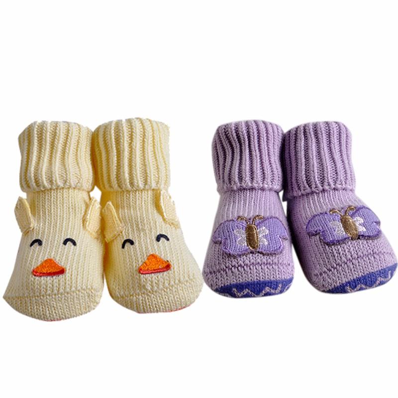 2 Pairslot Lovely Cute Newborn Baby Socks 6 Styles Animal Cartoon Infant S 0-12 Months (33)
