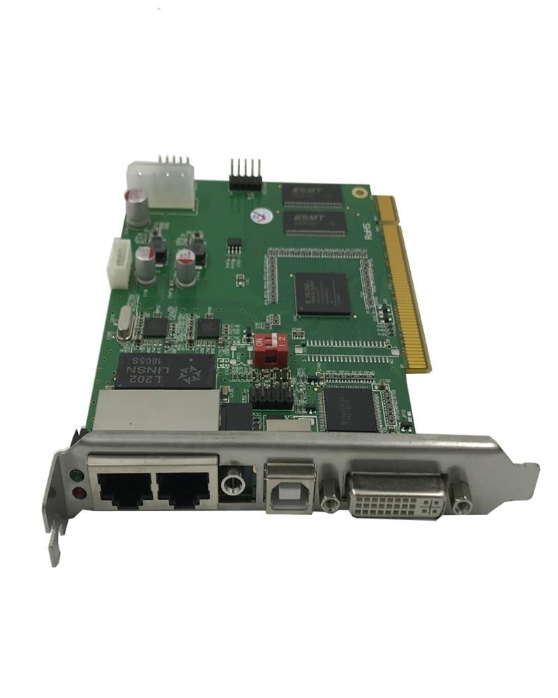 Supporto Max 2048*1280 punti con due porte LINSN TS802D Carta di Invio di controllo multi-display realizzando display a led scheda videoSupporto Max 2048*1280 punti con due porte LINSN TS802D Carta di Invio di controllo multi-display realizzando display a led scheda video