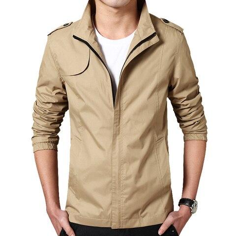 Bingchenxu Solid Color Jacket Men Brand Jackets Fashion Trend Slim Fit Casual Mens Jackets And Coats M-4XL 2019 Veste Homme 487 Lahore