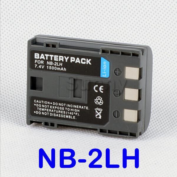 Rechargeable Au Lithium Ion Battery Pack Pour Canon NB-2LH et Canon EOS 400D, 350D et EOS Digital Rebel XT, XTi Appareil Photo REFLEX Numérique