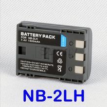 Перезаряжаемые литий-ионный Батарея для Canon NB-2LH и Canon EOS 400D, 350D и EOS Digital Rebel XT, XTI цифровой зеркальной Камера