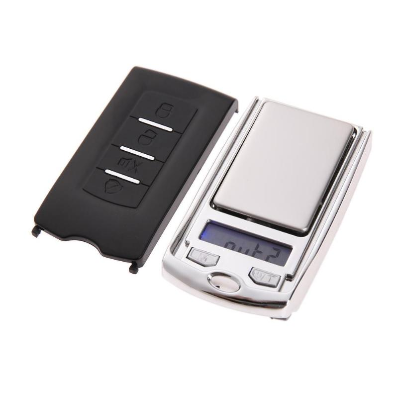 Mini Precision Portable Digital Pocket Jewelry Scale Electronic Balance Weighing Scales Measurement Analysis Instruments Tool