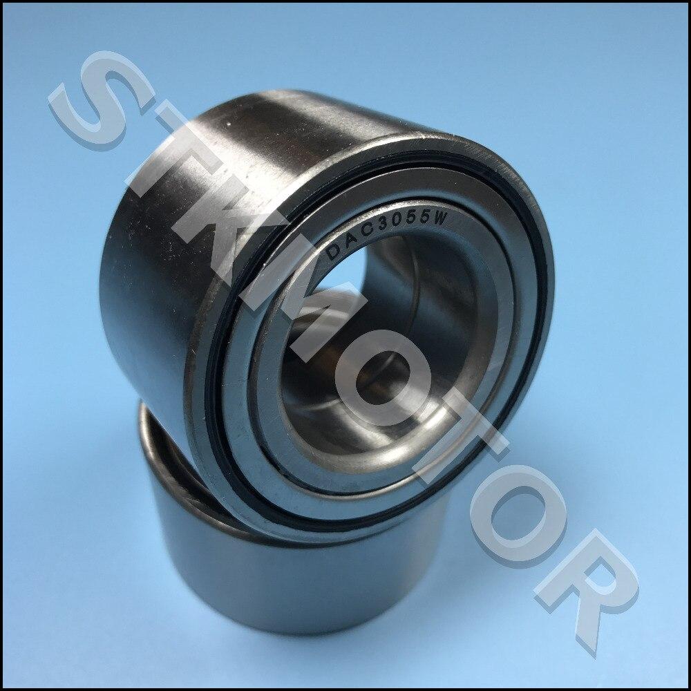 2PCS DAC30550032 DAC3055W CS31 DAC305532 ATV UTV Car Bearing Auto Wheel Hub Bearing Size 30*55*32mm 30x55x32mm Iron Shield