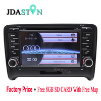 Top Auto 2DIN 7inch Car DVD Player Car Electronics For AU DI TT TTS 2006 2013