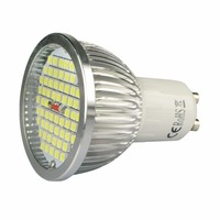 GU10 4W 3000K Low Consumption Environment Friendly Non Dimmable Compact Size Lightweight 120 Degree Beam Angle